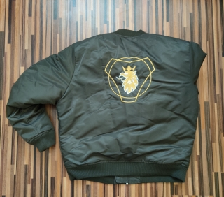 SCANFAN Bomber Green